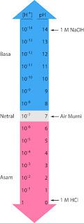 Cara Menghitung pH Larutan Asam dan Basa