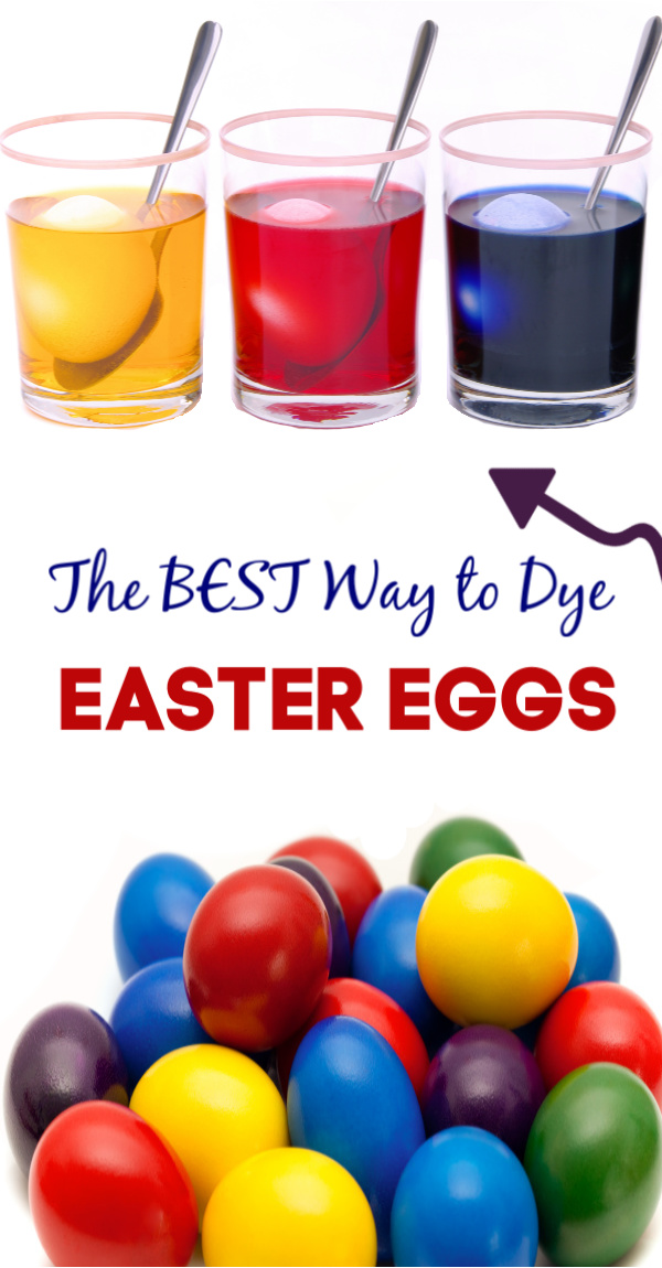 Tips for decorating SUPER vibrant Easter eggs using food coloring!  This recipe tutorial shows you how to get the most stunning, dyed eggs- step-by-step. #rainboweastereggs #rainboweggs #howtodyeeastereggs #foodcoloringeggdye #foodcoloringeastereggs #foodcoloringdyedeggs #howtocoloreastereggs #foodcoloring #growingajeweledrose