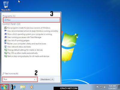 تسريع ويندوز عبر تعطيل البرامج اثناء الاقلاع ويندوز 7 و 8.1 و 10
