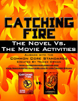 Catching Fire Novel vs. the Movie Teaching Pack