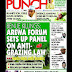NIGERIA NEWSPAPERS: TODAY'S THE PUNCH NEWSPAPER HEADLINES [13 JANUARY, 2018].