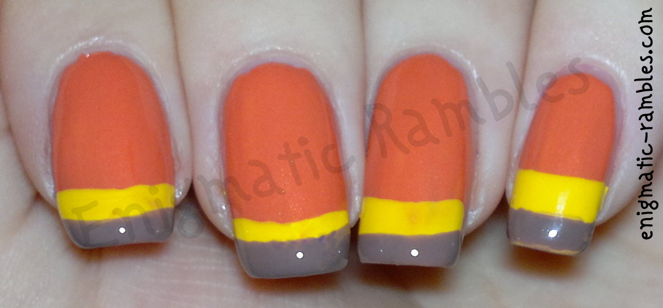 nails-nail-art-french-funky-elf-party-peach-smoky-brown-color-club-almost-famous