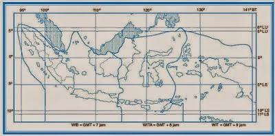 Pembagian waktu Indonesia