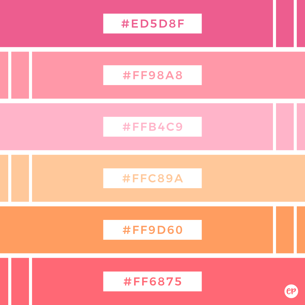 Five No Fail Palettes For: Emily Peterson Studio