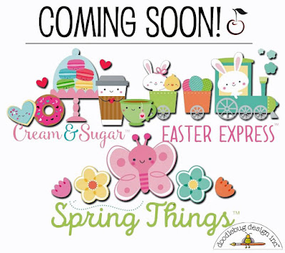 So Much Cute - Doodlebug Design Collections Coming Soon!