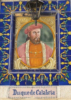 Fernando de Aragón - Duque de Calabria
