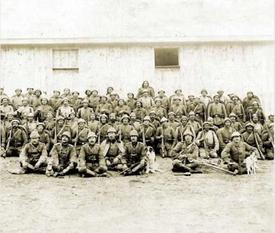 """""""Geyikli Alay"""" olarak tanınan 39. Alay'ın subayları ve Mehmetçikler..."""