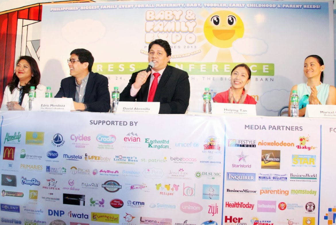 BABY & FAMILY EXPO PHILIPPINES 2013 LAUNCHED