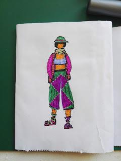ilustración chica olena beckett