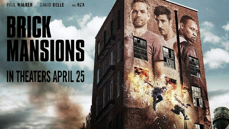 Brick Mansions David Belle Featuring Paul Walker [Movie Review]