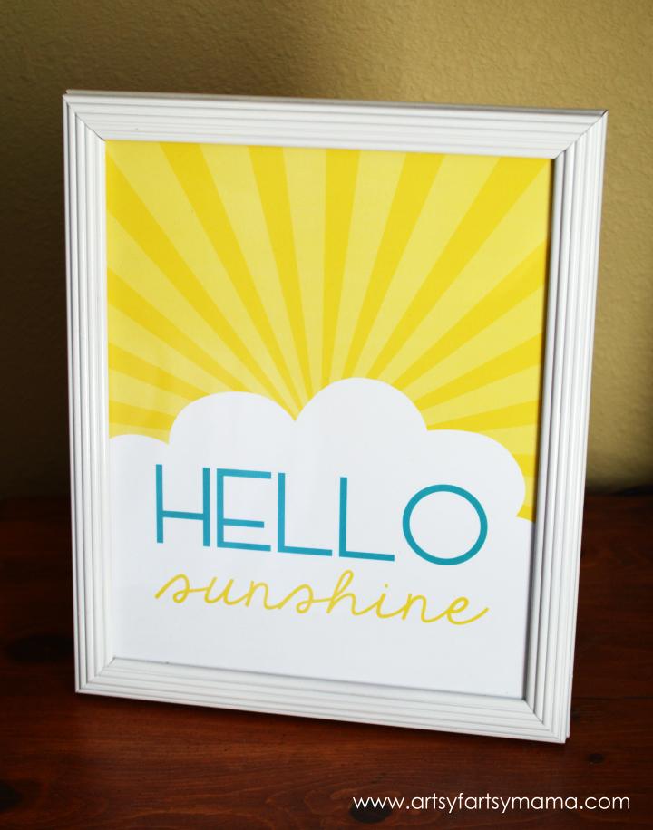 Hello Sunshine Free Printable