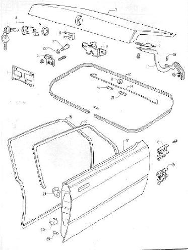 Manuales de mecánica y taller: Ford Corcel 2 catálogo de
