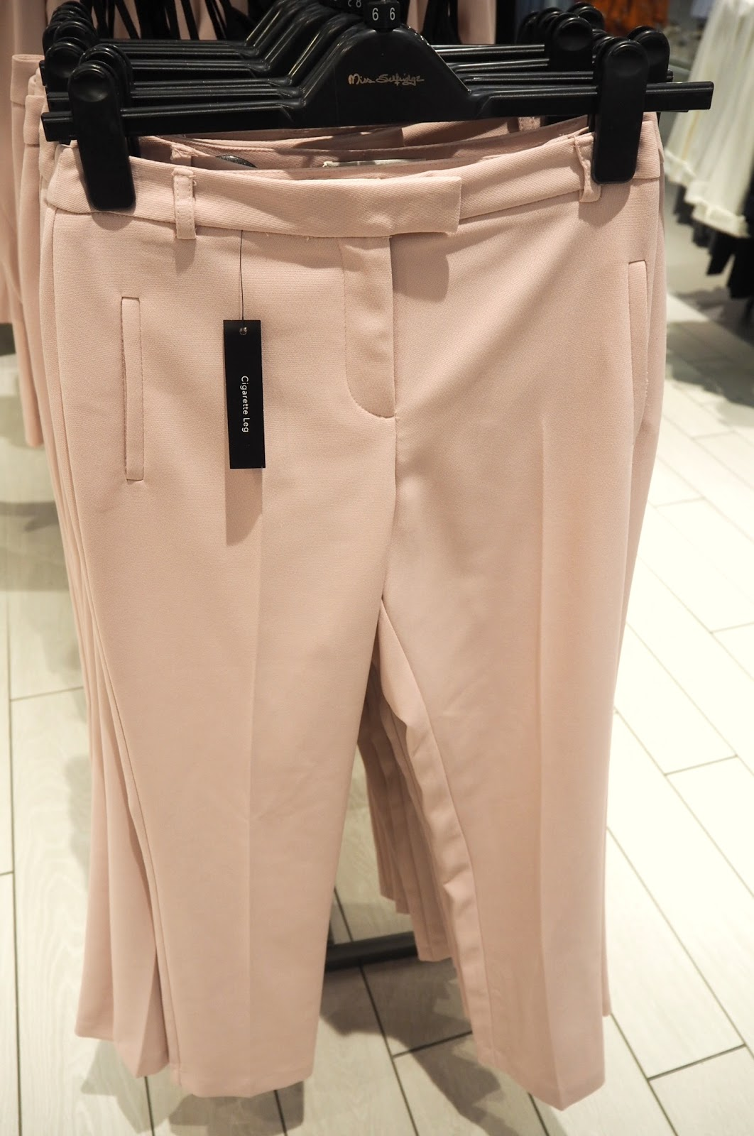 Miss Selfridge Pink Trouser-Suit Co-Ord