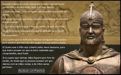 Os 3 últimos desejos de Alexandre, O Grande!
