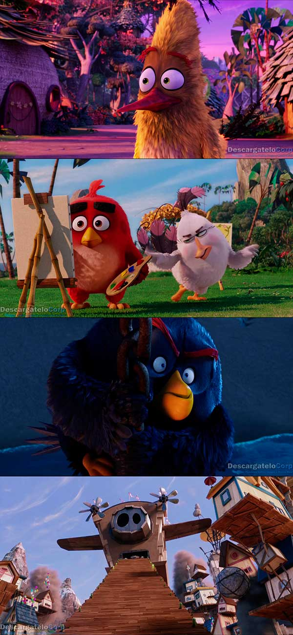 The Angry Birds Movie HD 1080p Latino