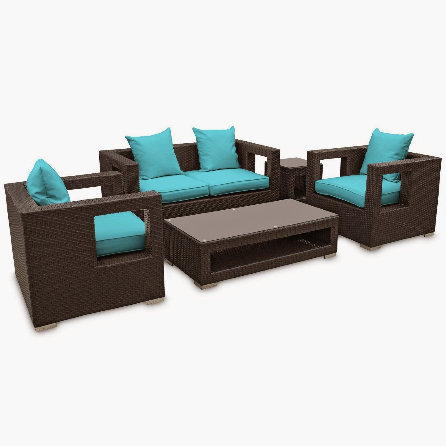 Modern Rattan Sofa Home Design Ideas and