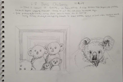 Koala Bear Drawing Pencil