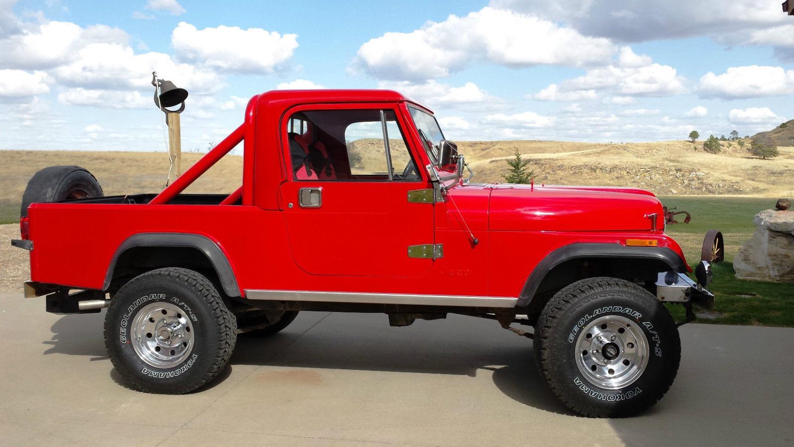 1983 Jeep CJ CJ8 Scrambler - 4x4 Friday