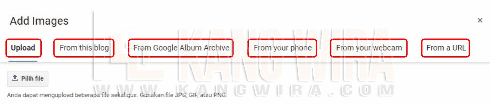 Cara Menyisipkan Foto kedalam Blog
