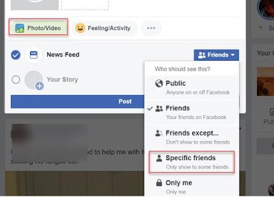 Cara Upload Video Pribadi di FB