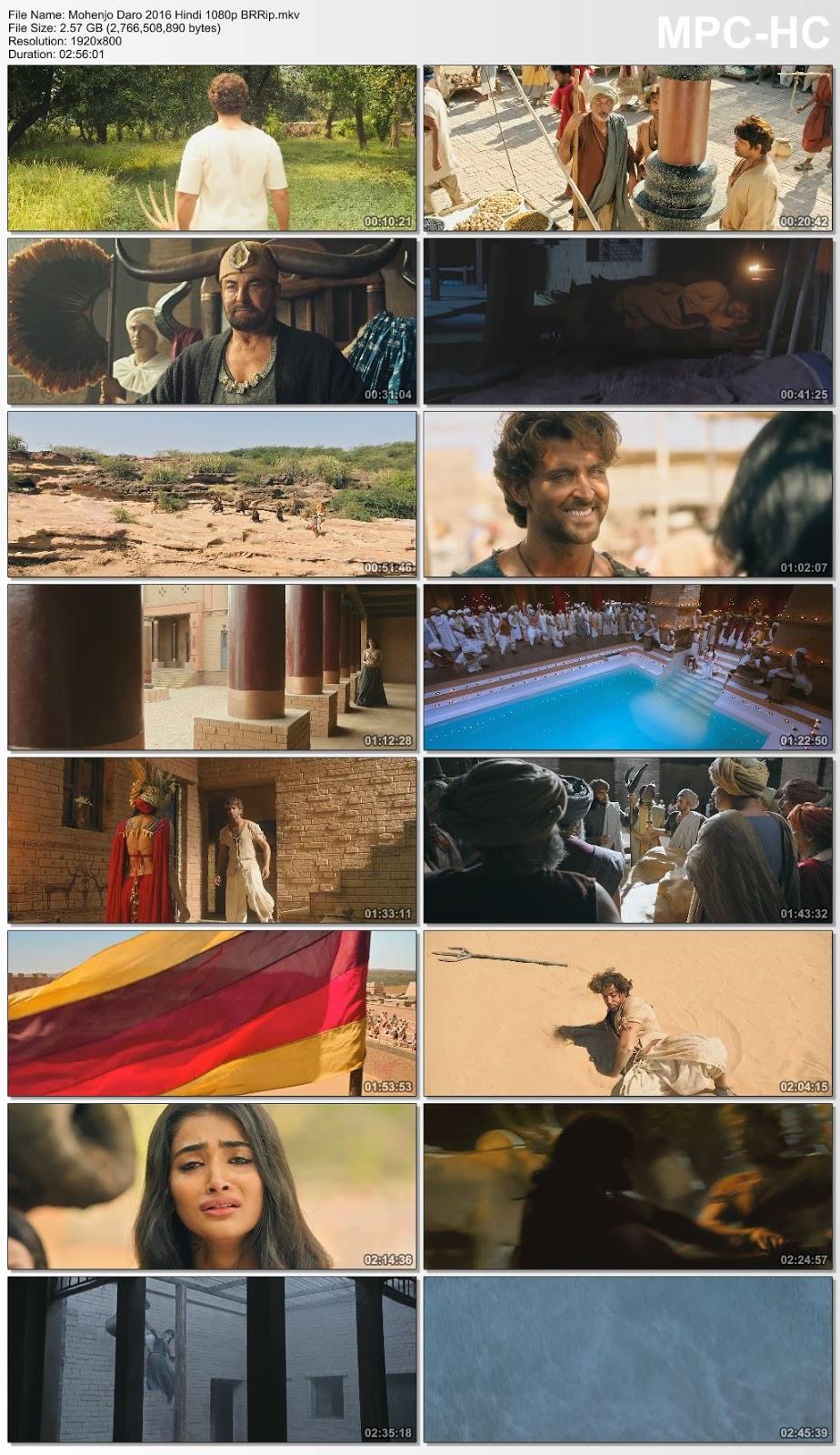 Mohenjo Daro 2016 Hindi 1080p BRRip – 2.57GB Desirehub