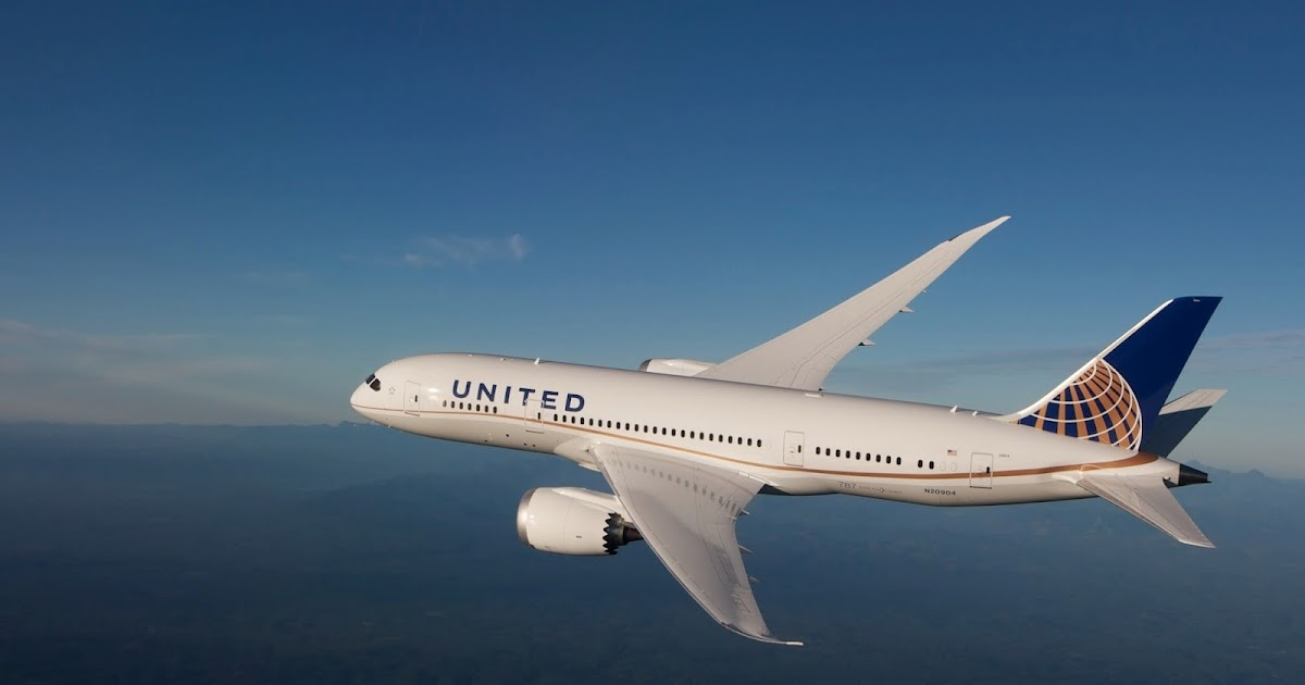 United Airlines Boeing 787 9 Dreamliner Inflight Aeronef Net