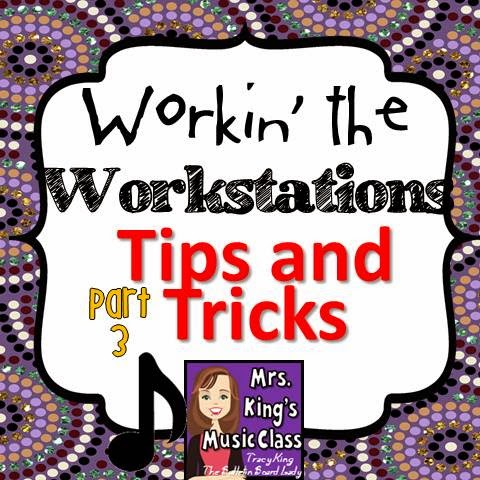 Tips and Tricks for implementing workstations in your music class.  What works best, how to improvise and more and included in this post from a veteran music teacher.