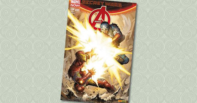 Avengers Panini Cover