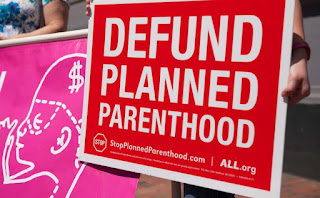 Defund Planned Parenthood Sign