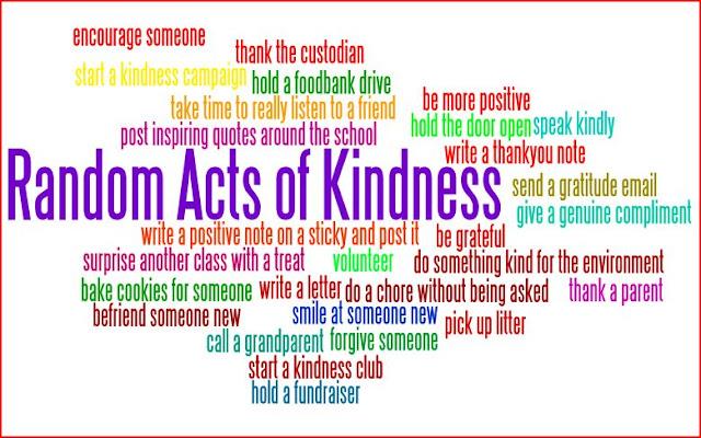 Wordless Wednesday #Actofkindness