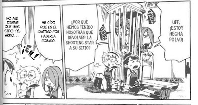 "Manga: Reseña de ""Little Witch Academia"" de Keisuke Sato, Trigger y Yoh Yoshinari  - Editorial ivrea"
