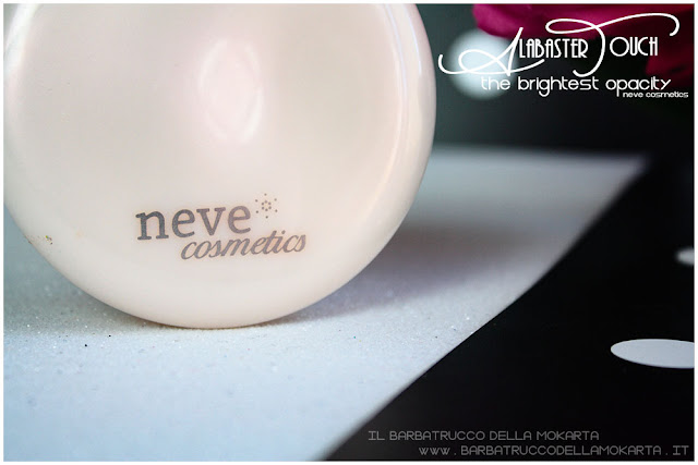 alabaster touch cipria neve cosmetics powder vegan