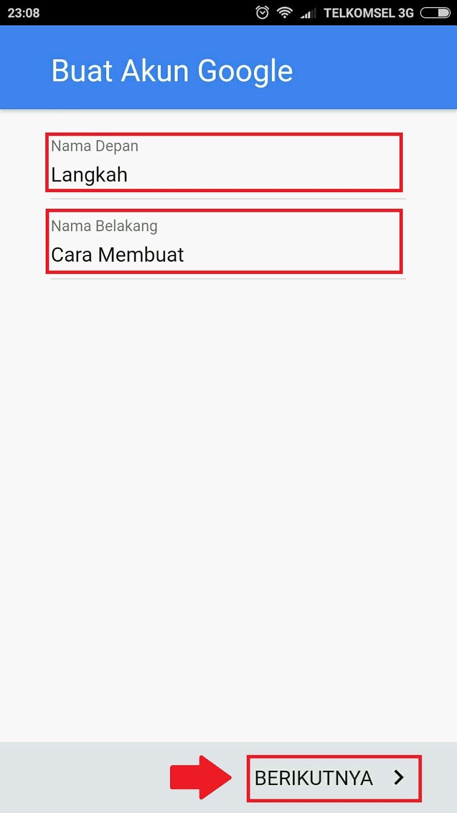 buat email baru gmail gratis daftar gmail lewat hp