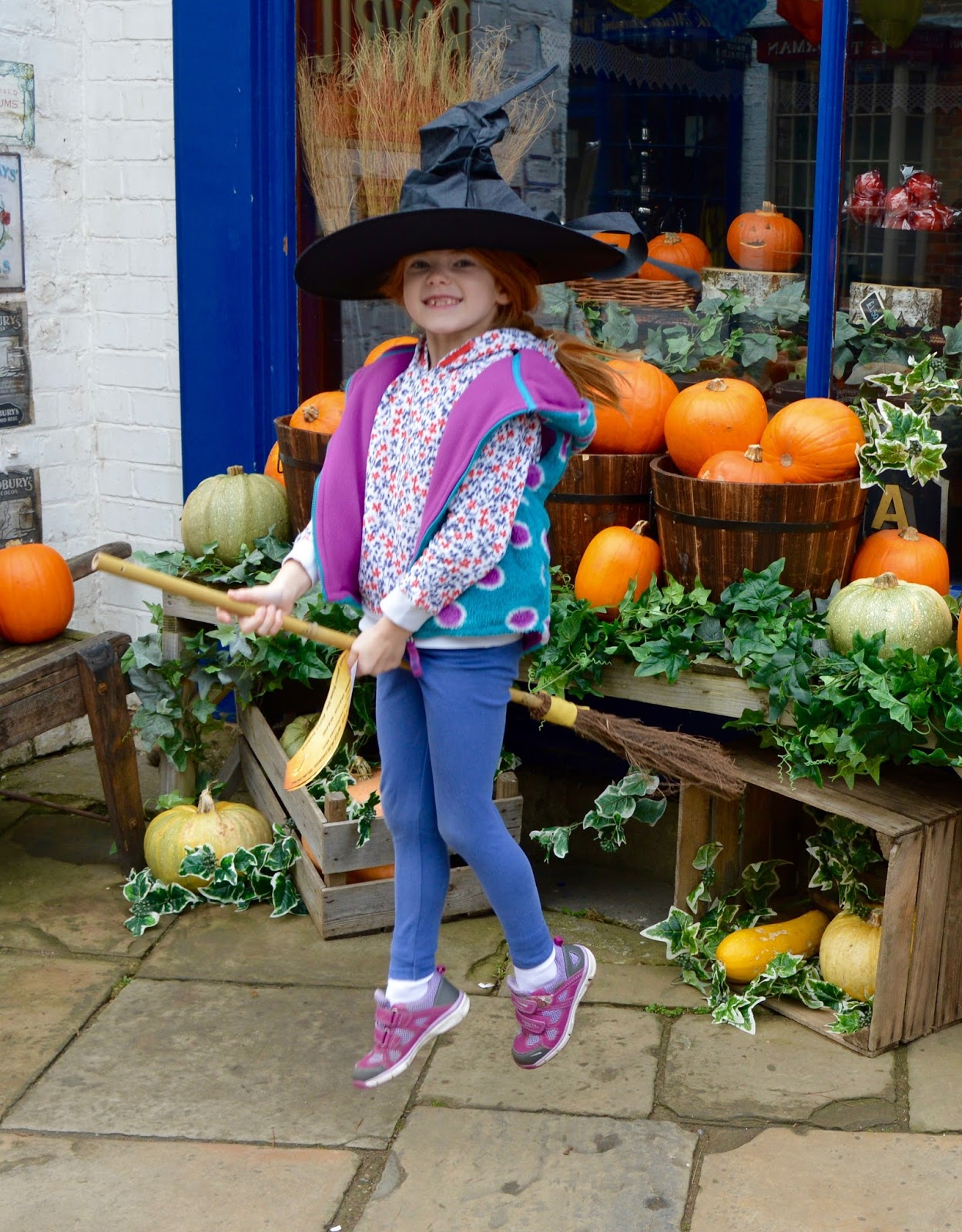 Half Term Hocus Pocus at Preston Park | The North East's very own Diagon Alley - broomstick flying