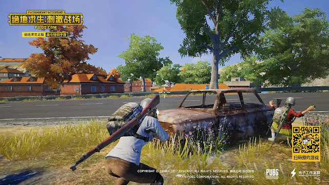 Assault Rifle PUBG Mobile Timi dan Quantum Lightspeed