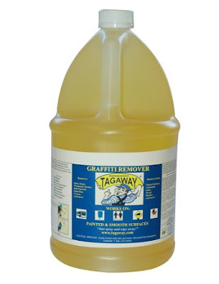 Graffiti Removal Products - Tagaway Graffiti Remover 1 Gallon. For Smooth and Painted Surfaces