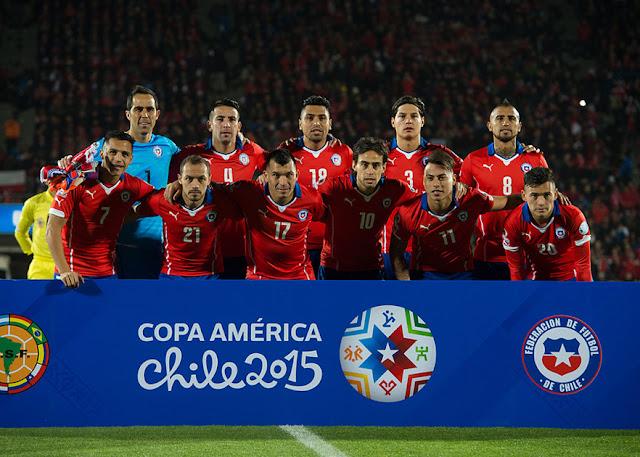 Formación de Chile ante México, Copa América 2015, 15 de junio