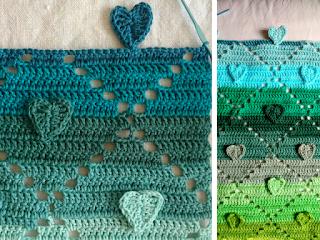 Crochet Pattern Heart Runner