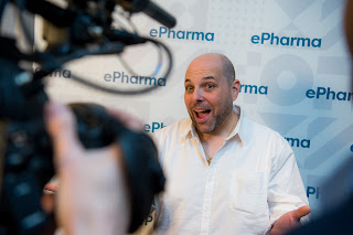 Stupid Cancer Show founder Matthew Zachary at the ePharma Summit 2016