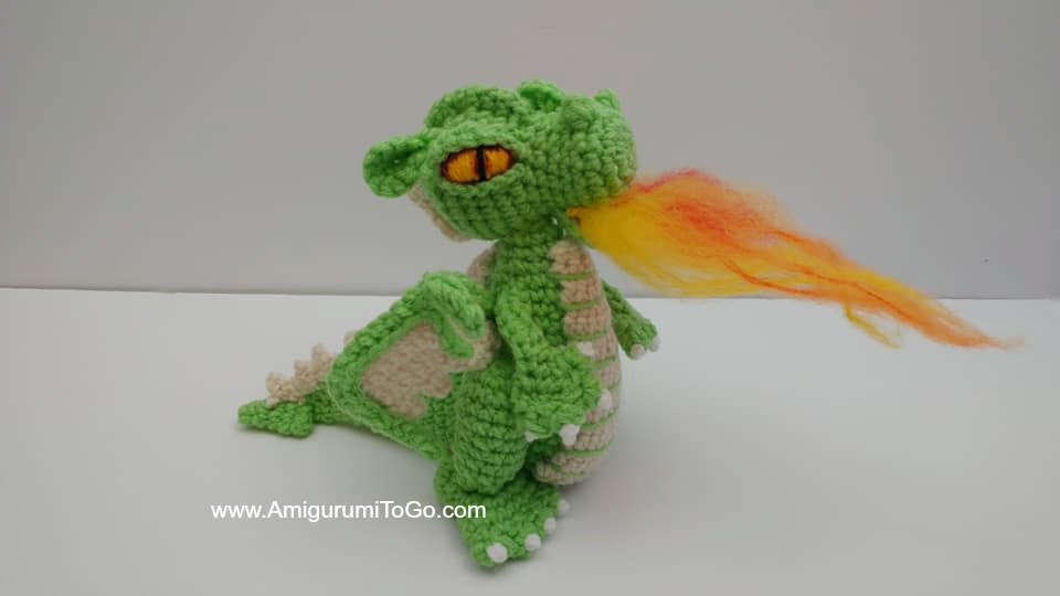 Crochet Amigurumi Dragon (Free Pattern) | AllFreeCrochet.com | 540x960