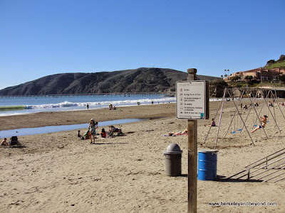 beach playground in Avila Beach, California