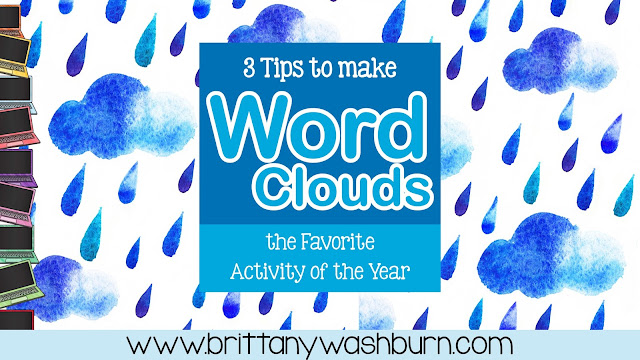 Today I have 3 tips for you to use when planning and implementing using word clouds as a lesson with your students.