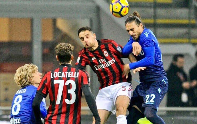 Milan-Lazio finisce senza gol, tutto rimandato alla gara di ritorno all'Olimpico | Andata Semifinale Coppa Italia