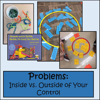 Lesson plan: Deciding if problems are in our control or out of our control