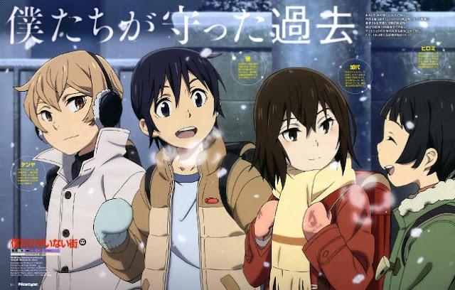Erased (Boku dake ga Inai Machi) - Best Time Travel Anime List