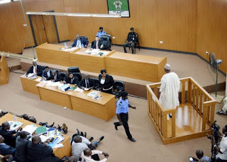 Bukola Saraki's trial at Code of Conduct Tribunal