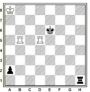 Problema ejercicio de ajedrez número 820: Estudio de Velimir Kalandadze (4º Premio Grusiya-60, 1982)