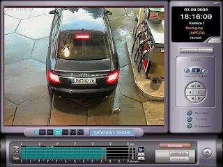 Tankstellenüberwachung per Videokamera