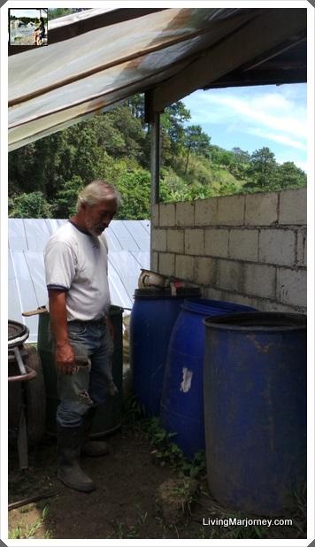 Using Mukosako to make Compost: