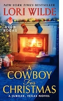 Book Cover of A Cowboy for Christmas by Lori Wilde